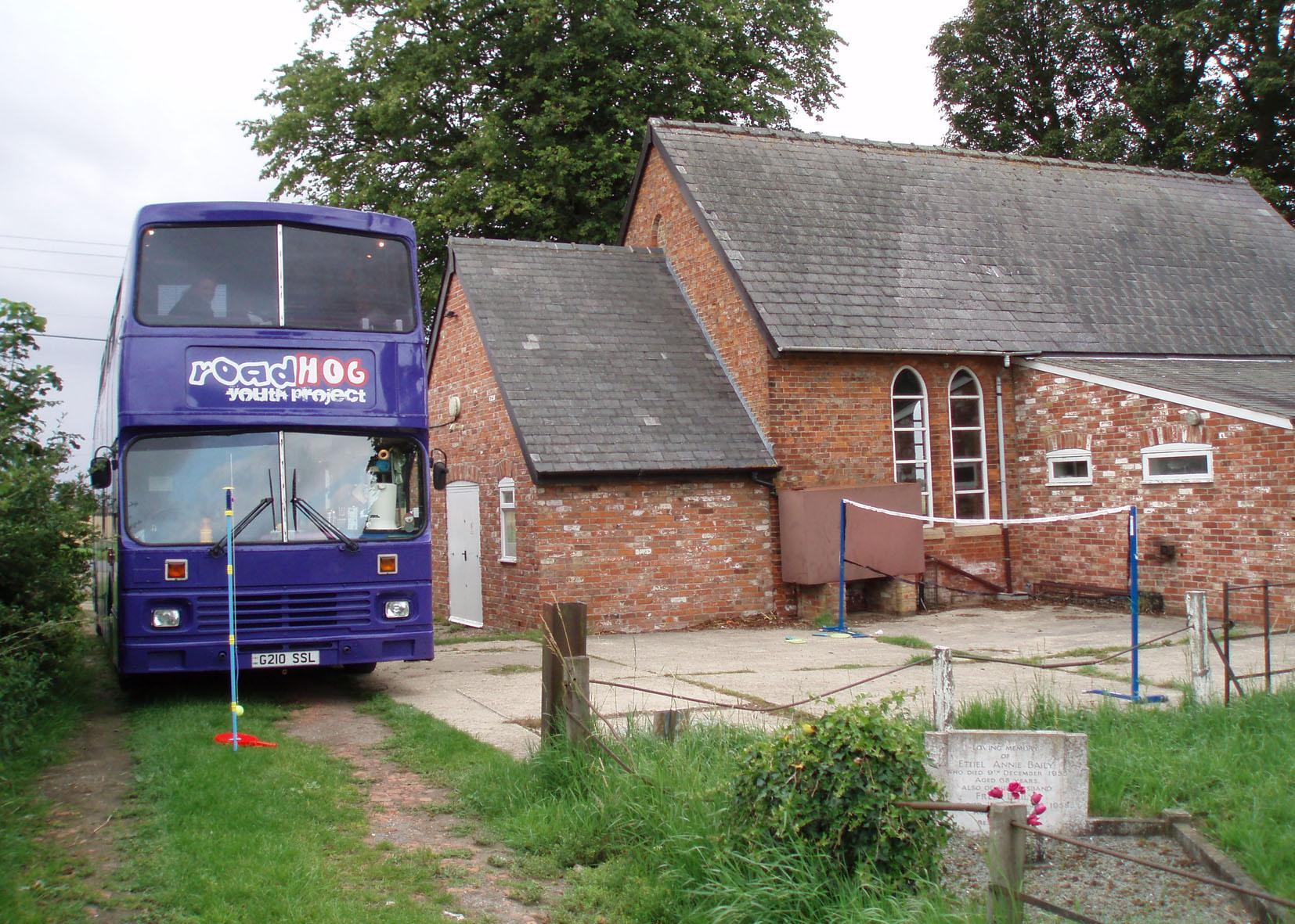 roadHoG at Holland Fen Parish Hall