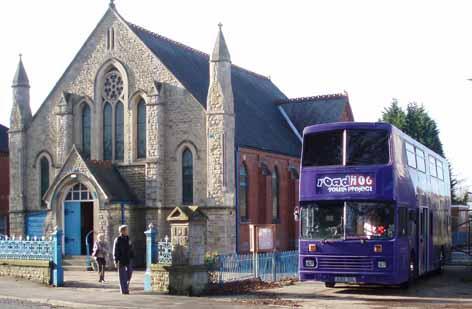 roadHoG at Kirton Methodist Church